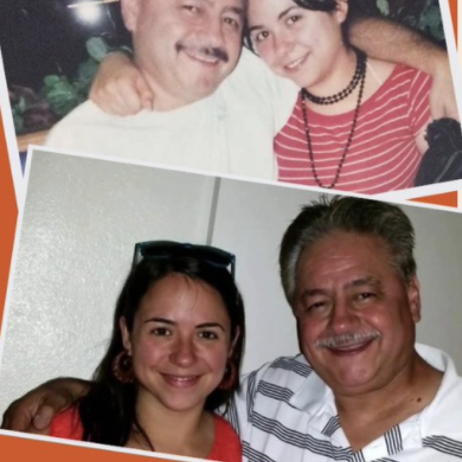 picture of Kristin Urquiza and father